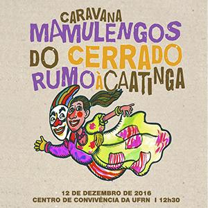 Caravana Mamulengos do Cerrado rumo à Caatinga - No Centro de Convivência da UFRN - 12 de dezembro de 2016 - às 12:30