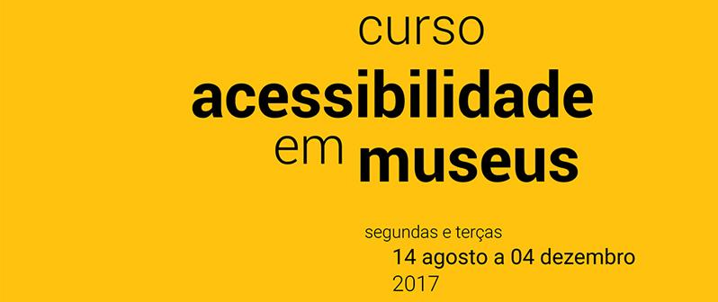 Plano de Cultura da UFRN promove Curso de Acessibilidade em Museus