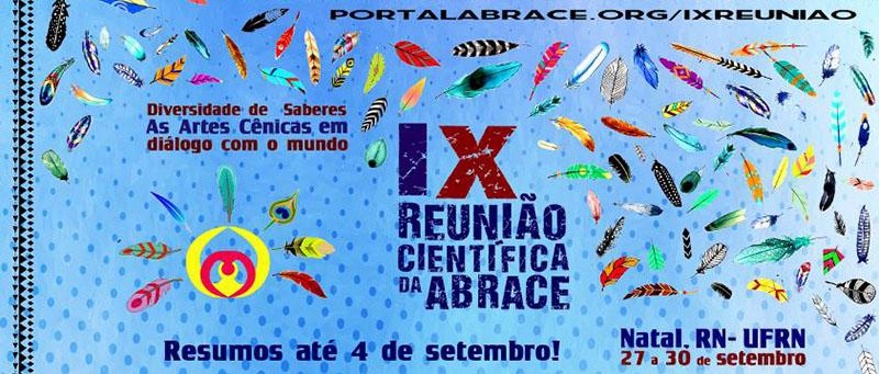 IX Reunião Científica da ABRACE