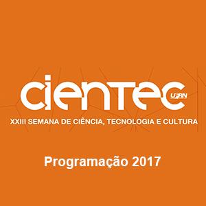 Programação Oficial da Cientec Cultural 2017