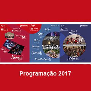 Programação do Anfiteatro do Campus - CIENTEC 2017