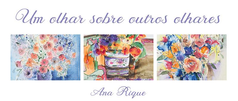Exposição de Ana Rique na Galeria Conviv'Art. Abertura: 24 de maio de 2018, às 19h Visitação: 25 de maio a 15 de junho de 2018