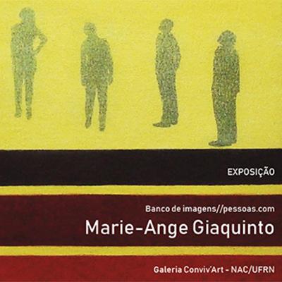 Exposição - Banco de imagens//pessoas.com da artista Marie-Ange Giaquinto na galeria Conviv'Art. Abertura: 16 de agosto, às 16h.