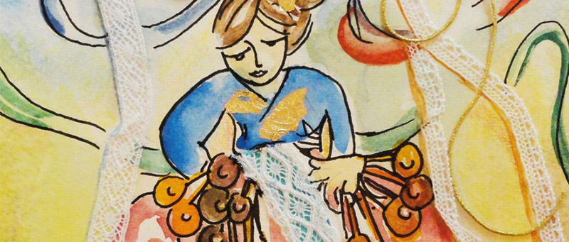 Exposição - Saberes de Tradição: Cores e Poesia de Socorro Evangelista.  Abertura: 30 de outubro, às 19h na Galeria Conviv'Art.