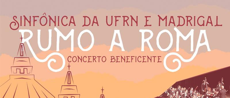Concerto da Orquestra Sinfônica da UFRN e Madrigal da UFRN no Teatro Riachuelo, dia 22 de novembro de 2018, às 20h.  Ingressos na bilheteria do Teatro