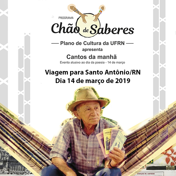 Viagem para Santo Antônio/RN no dia 14 de março de 2019.