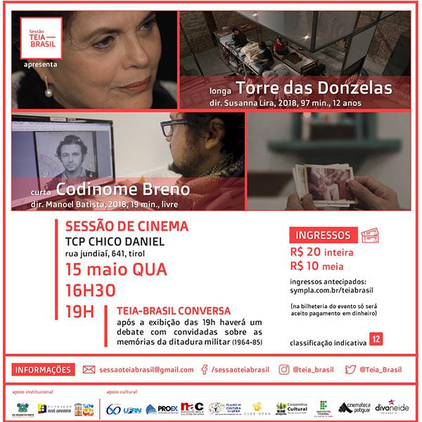 Filme inédito sobre resistência feminina na Ditadura Militar é exibido em Natal