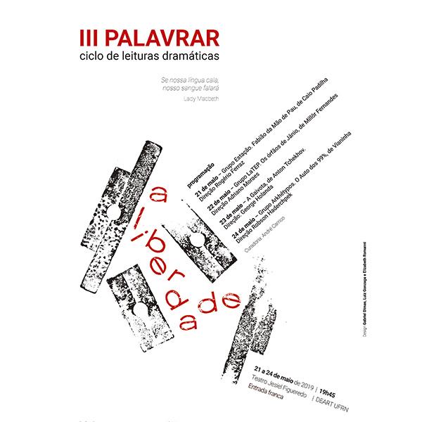 III PALAVRAR - CICLO DE LEITURAS DRAMÁTICAS
