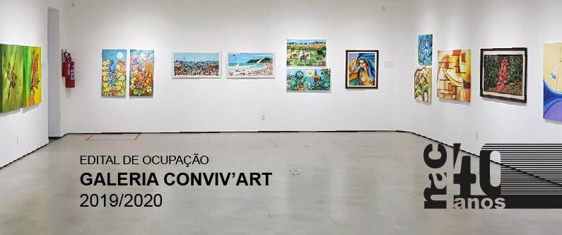 Edital de ocupação da Galeria Conviv'Art 2019/2020