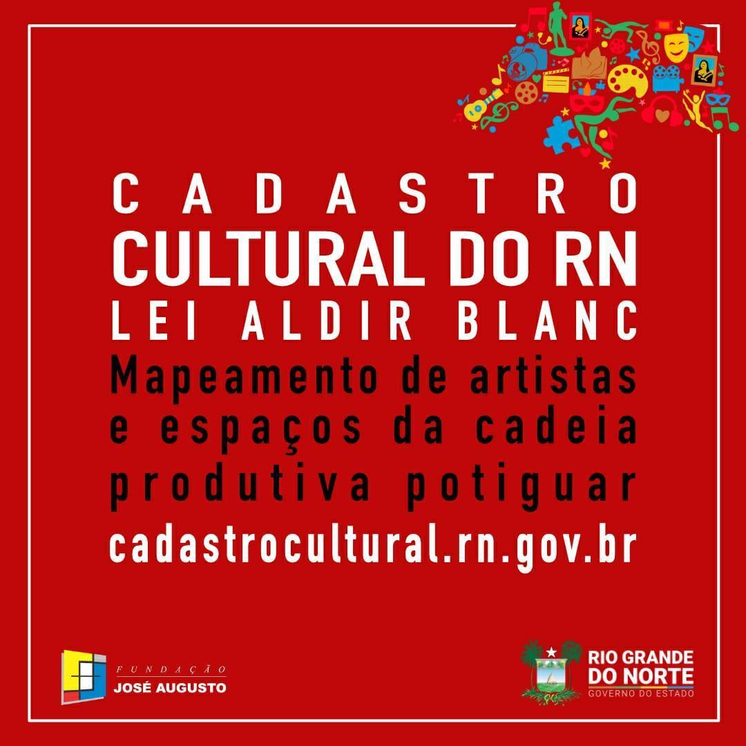Cadastramento estadual de artistas - Lei Aldir Blanc
