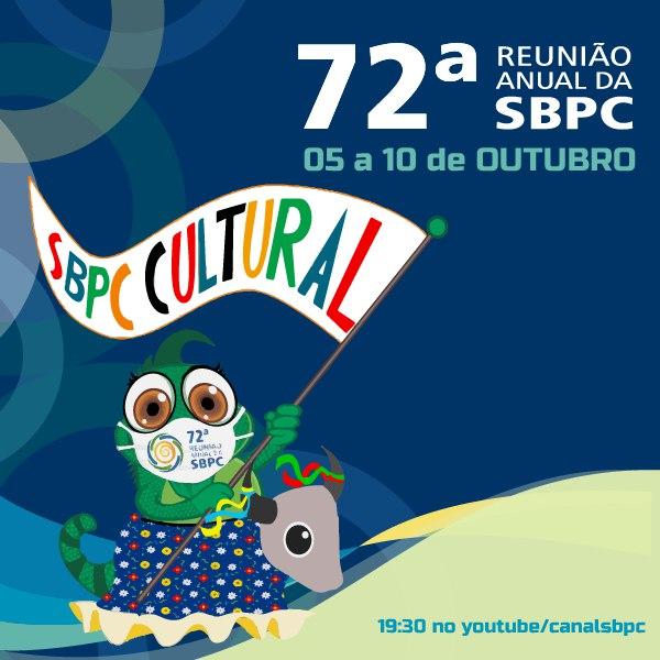 Programação da SBPC Cultural - Programação de Outubro