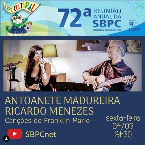 Hoje, 4 de setembro, tem show na SBPC Cultural!