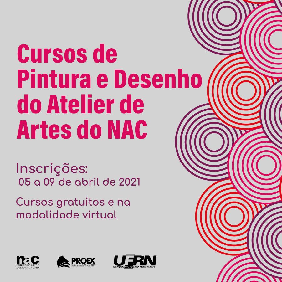Em breve: cursos do Atelier de Artes do NAC